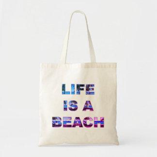 Life Is A Beach Tote Bag