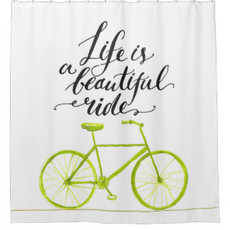 Life Is A Beautiful Ride Lime Green