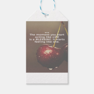 Life Is A Blessing Gift Tags