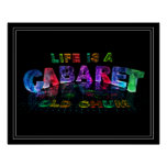 Life is a Cabaret, old chum Poster