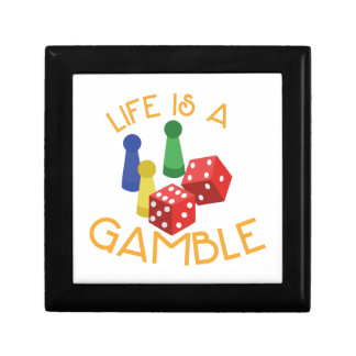Life Is A Gamble Gift Box
