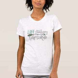 Life is a Journey Enjoy the Ride Boho Wanderlust T-Shirt