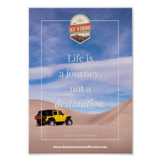 Life is a Journey - Poster
