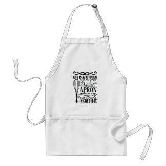 Life is a kitchen standard apron