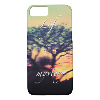 Life is a mystery iPhone 7 case