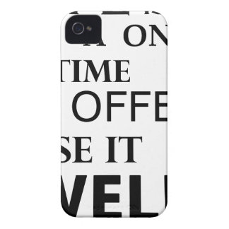 life  is a one time offer iPhone 4 cases