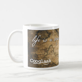 Life is a trip through time | Cooglaak Coffee Mug