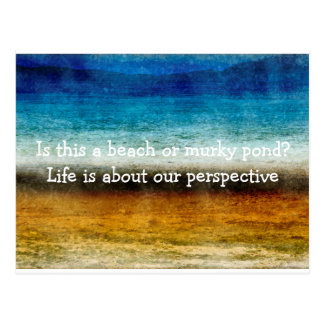 Life Is About Our Perspective Postcard