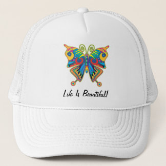 Life Is Beautiful Butterfly Hat