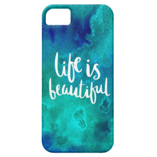 Life is beautiful iPhone 5 cases