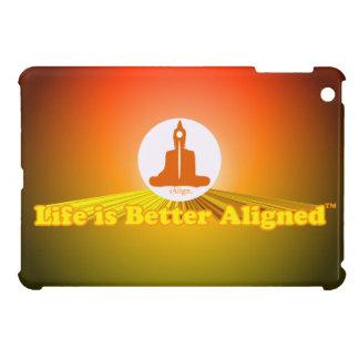 Life is Better Aligned ipad mini case with Buddha