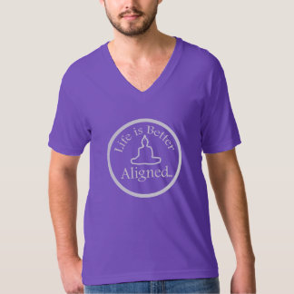 Life is Better Aligned shirt with Buddha