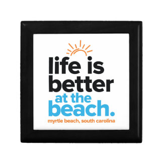 Life Is Better at the Beach. Gift Box