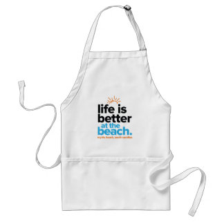 Life Is Better at the Beach. Standard Apron