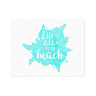 Life Is Better at the Beach Wall Art