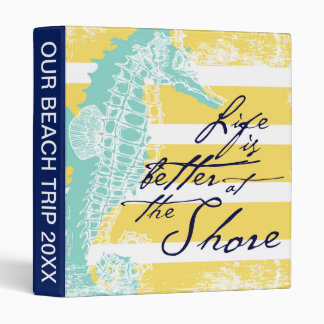 Life is Better at the Shore Vinyl Binders