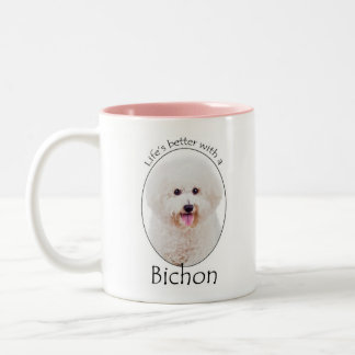 Life is Better Bichon Mug