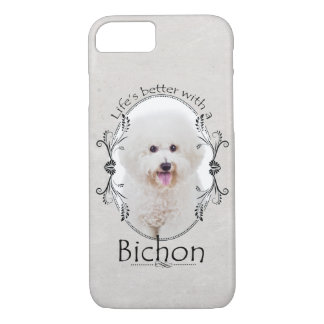 Life is Better Bichon Smartphone Case