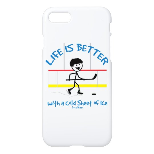 Life is Better Hockey Phone Case