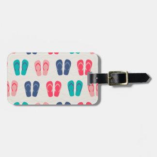 Life is better in Flip Flops Bag Tag