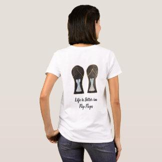 Life is Better in Flip Flops Dress Shoes Art