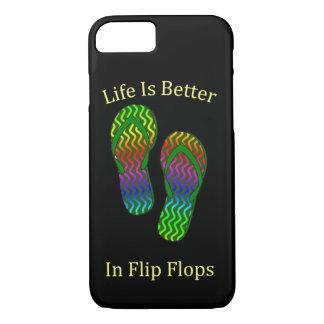 Life Is better In Flip Flops iPhone 7 Case