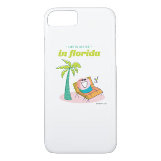Life is better in Florida iPhone 7 Case