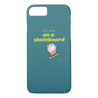 Life is better on a skateboard Case-Mate iPhone case
