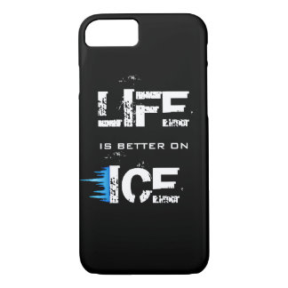 LIFE IS BETTER ON ICE iPhone 8/7 CASE