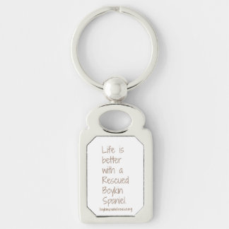 Life is Better Rescue Key Chain