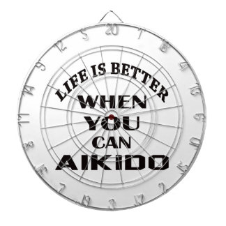 Life is better when you can Aikido Dartboard