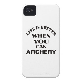 Life Is Better When You Can Archery iPhone 4 Case-Mate Case
