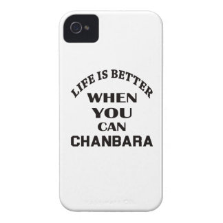 Life Is Better When You Can Chanbara iPhone 4 Case-Mate Cases