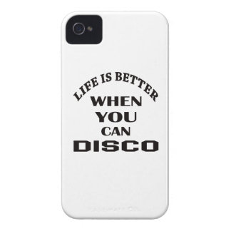 Life is better When you can Disco dance iPhone 4 Cover