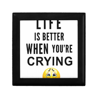 Life Is Better When You're Crying Gift Box