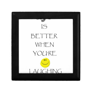 life is better when you're laughing gift box
