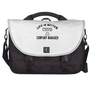 Life Is Better With A Company manager Bag For Laptop
