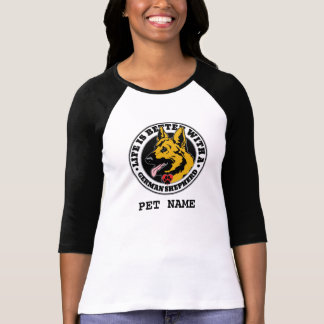 Life Is Better With A German Shepherd Personalized T-Shirt