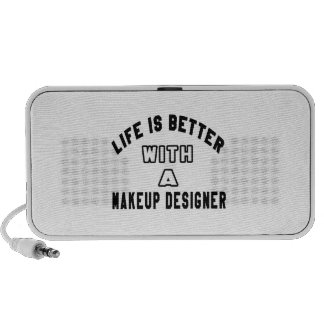 Life Is Better With A Makeup designer Notebook Speaker