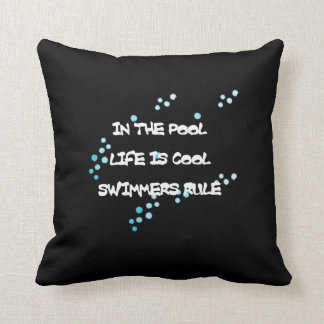 Life is Cool Throw Pillow