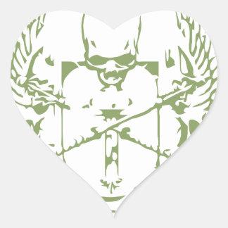 Life Is Eternal Heaven Awaits - Religion Heart Sticker