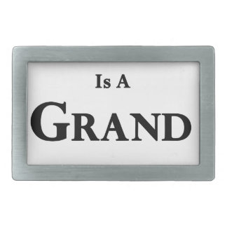 Life Is Grand Adventure Belt Buckle