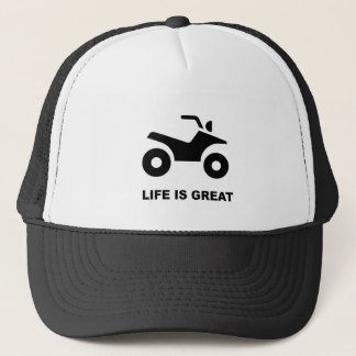 LIFE IS GREAT - ATV TRUCKER HAT