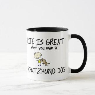 Life is Great Schutzhund Mug