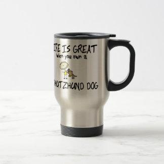 Life is Great Schutzhund Travel Mug
