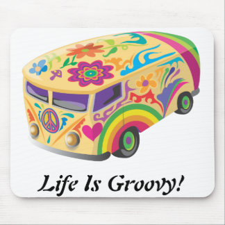 Life Is Groovy Mousepad
