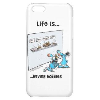 Life is Having Hobbies iPhone 5C Case
