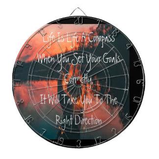 Life Is Like A Compass Dartboard