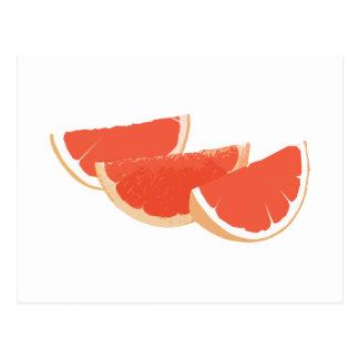 Life is like a grapefruit. postcard
