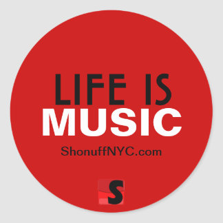 Life Is Music Sticker